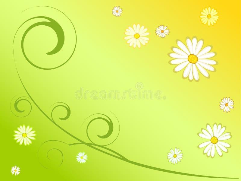 Abstrakter Frühlingshintergrund lizenzfreie abbildung