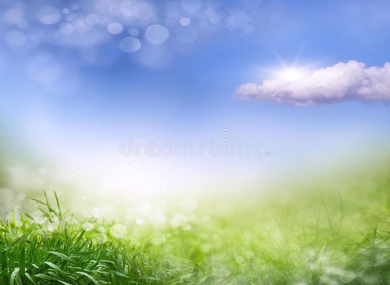 Abstrakter Frühlingshintergrund 2 lizenzfreies stockbild