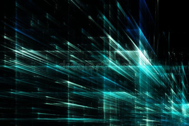 Abstrakter futuristischer Hintergrund lizenzfreie abbildung