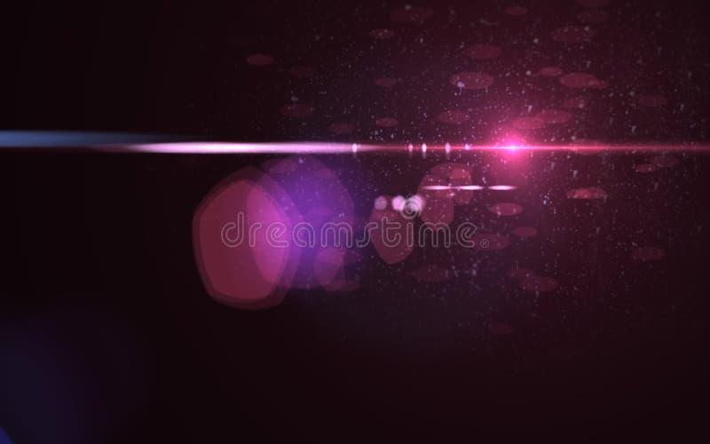 Abstrakter galaktischer Raum scape Hintergrund vektor abbildung