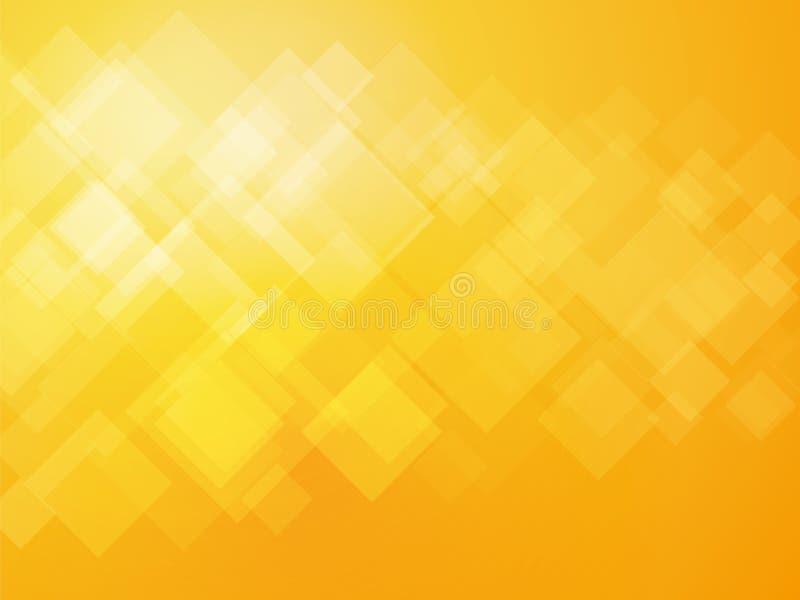 Abstrakter gelber Hintergrund stock abbildung