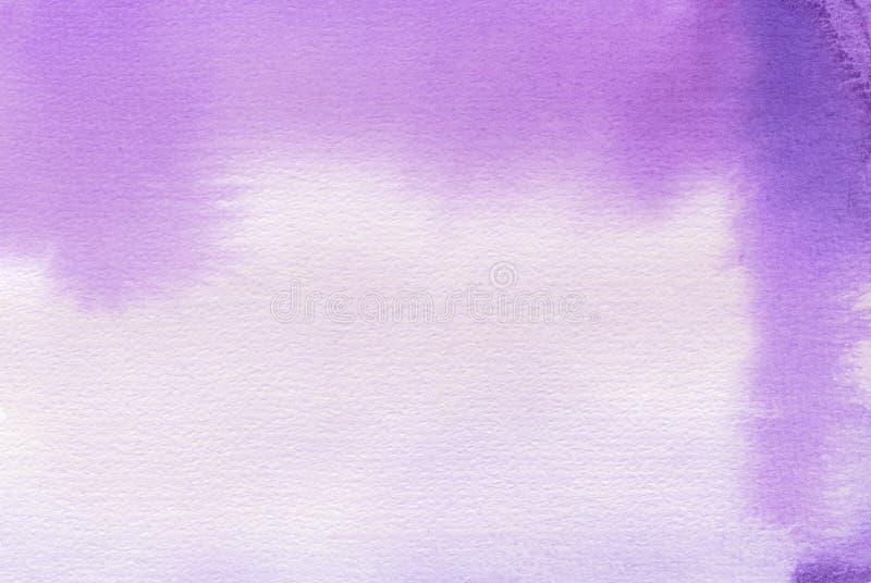 Abstrakter gemalter Hintergrund des Aquarells Fleck Masern Sie Papier stockfoto
