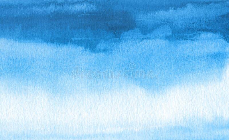 Abstrakter gemalter Hintergrund des Aquarells Fleck Masern Sie Papier stockbild