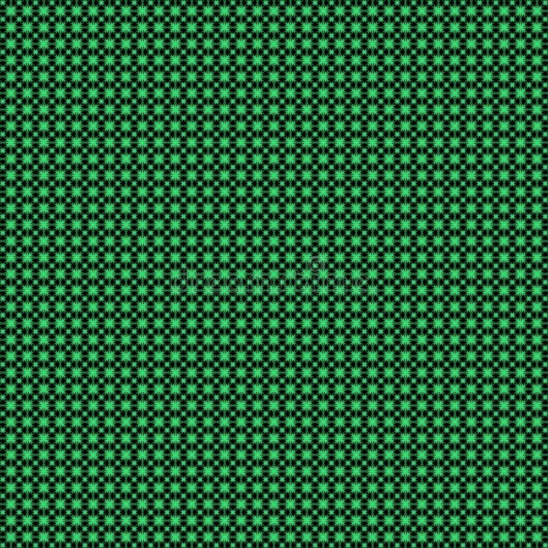 Abstrakter geometrischer Blumenmusterhintergrund vektor abbildung