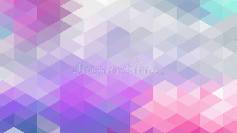 Abstrakter geometrischer Dreieckhintergrund, Kunst, künstlerisch, hell, bunt, Entwurf Muster für Geschäftsanzeige, Broschüren, Br vektor abbildung