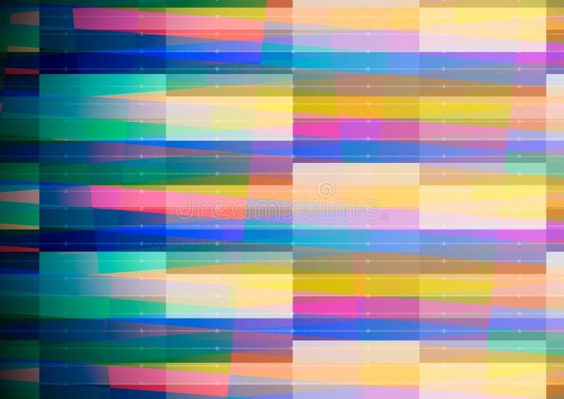 Abstrakter geometrischer Hintergrund mit blauem Rand vektor abbildung