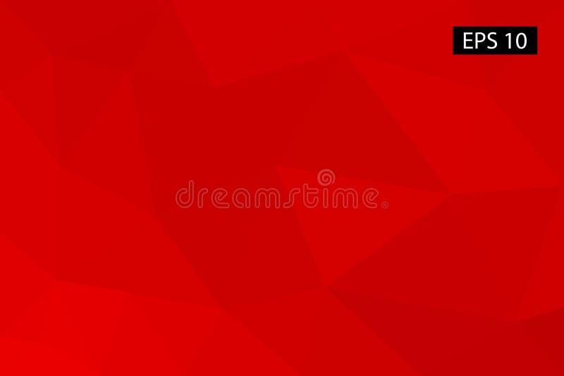 Abstrakter geometrischer Hintergrund, von den Polygonen, Dreieck, Illustration, Muster, dreieckige Schablone, geometrisch stockfoto