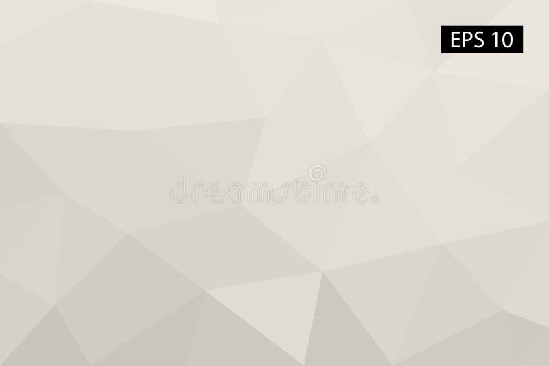 Abstrakter geometrischer Hintergrund, von den Polygonen, Dreieck, Illustration, Muster, dreieckige Schablone, geometrisch lizenzfreie stockfotos