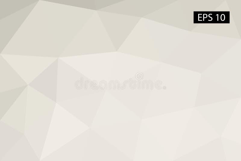 Abstrakter geometrischer Hintergrund, von den Polygonen, Dreieck, Illustration, Muster, dreieckige Schablone, geometrisch stockbild