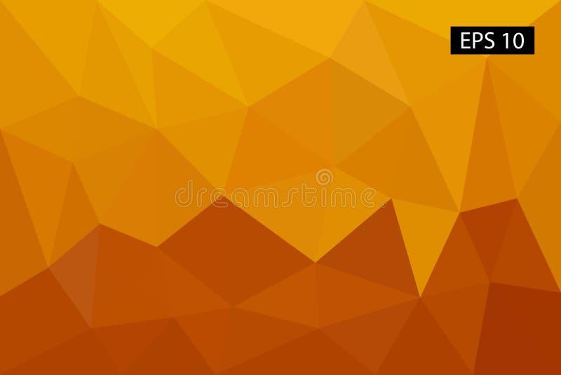Abstrakter geometrischer Hintergrund, von den Polygonen, Dreieck, Illustration, Muster, dreieckige Schablone, geometrisch stockfotografie