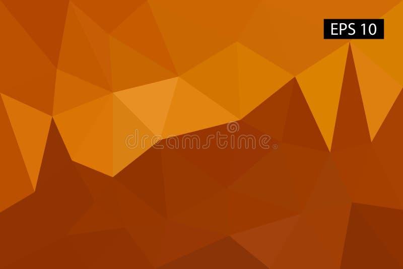 Abstrakter geometrischer Hintergrund, von den Polygonen, Dreieck, Illustration, Muster, dreieckige Schablone, geometrisch lizenzfreies stockfoto