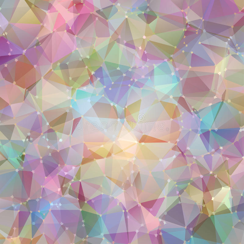 Abstrakter geometrischer Hintergrund lizenzfreie abbildung