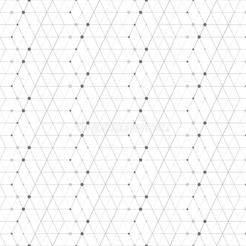 Abstrakter geometrischer Musterpunkt mit Rauten lizenzfreie abbildung