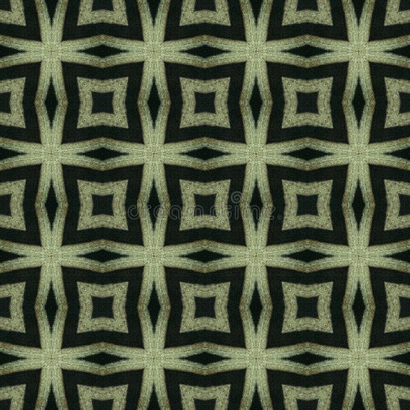 Abstrakter geometrischer nahtloser Hintergrund vektor abbildung