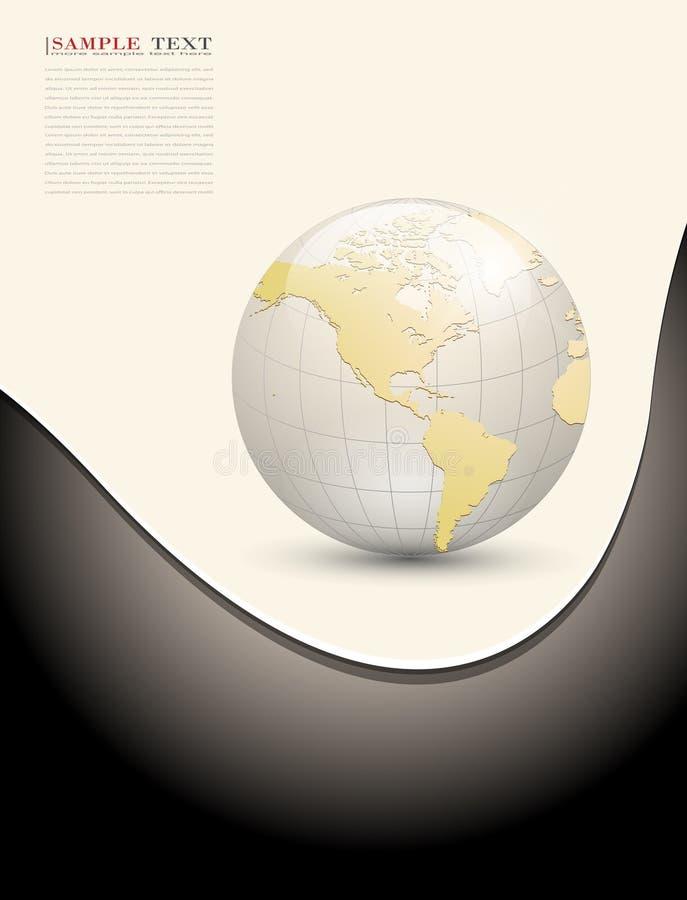 Abstrakter Geschäftshintergrund vektor abbildung
