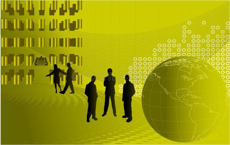 Abstrakter Geschäftshintergrund stock abbildung