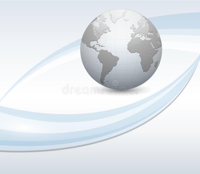 Abstrakter Geschäftshintergrund lizenzfreie abbildung