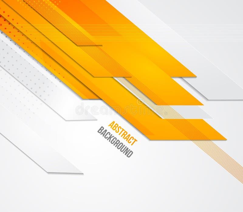 Abstrakter Geschäftshintergrund Schablonenbroschüre vektor abbildung