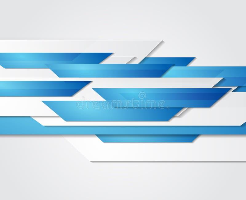 Abstrakter Geschäftshintergrund Schablonenbroschüre stock abbildung