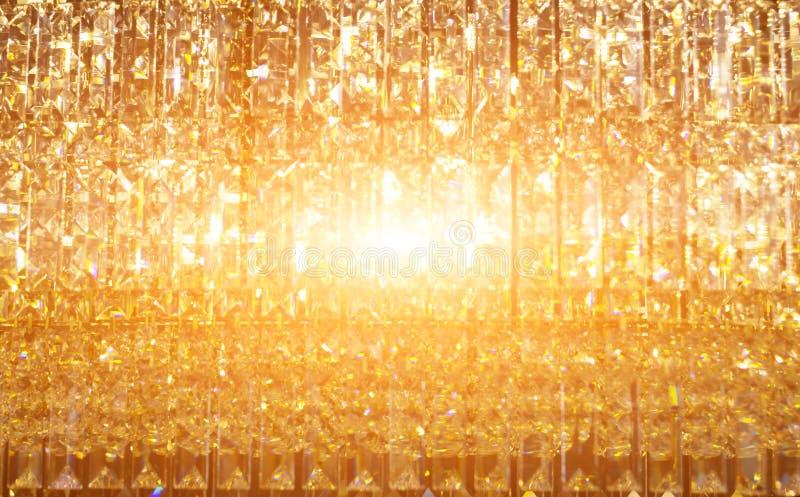 Abstrakter goldener Lichtreflex lizenzfreie stockfotos