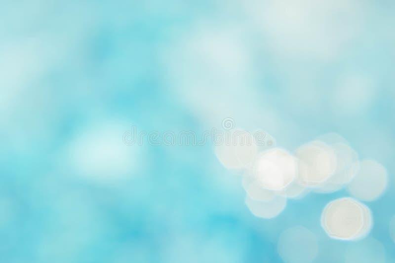 Abstrakter grün-blauer Unschärfehintergrund, tapezieren blaue Welle mit s lizenzfreie stockfotos