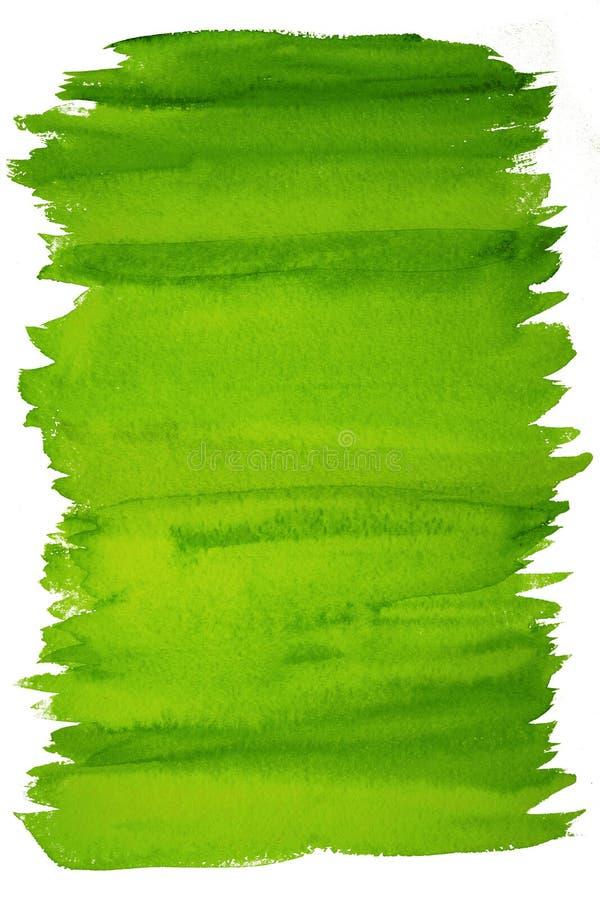 Abstrakter Grünaquarellhintergrund vektor abbildung