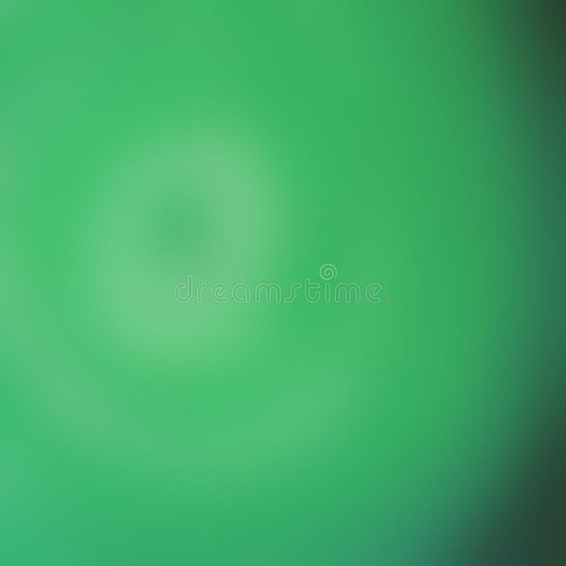Abstrakter grüner blurr Hintergrund, defocus lizenzfreie abbildung