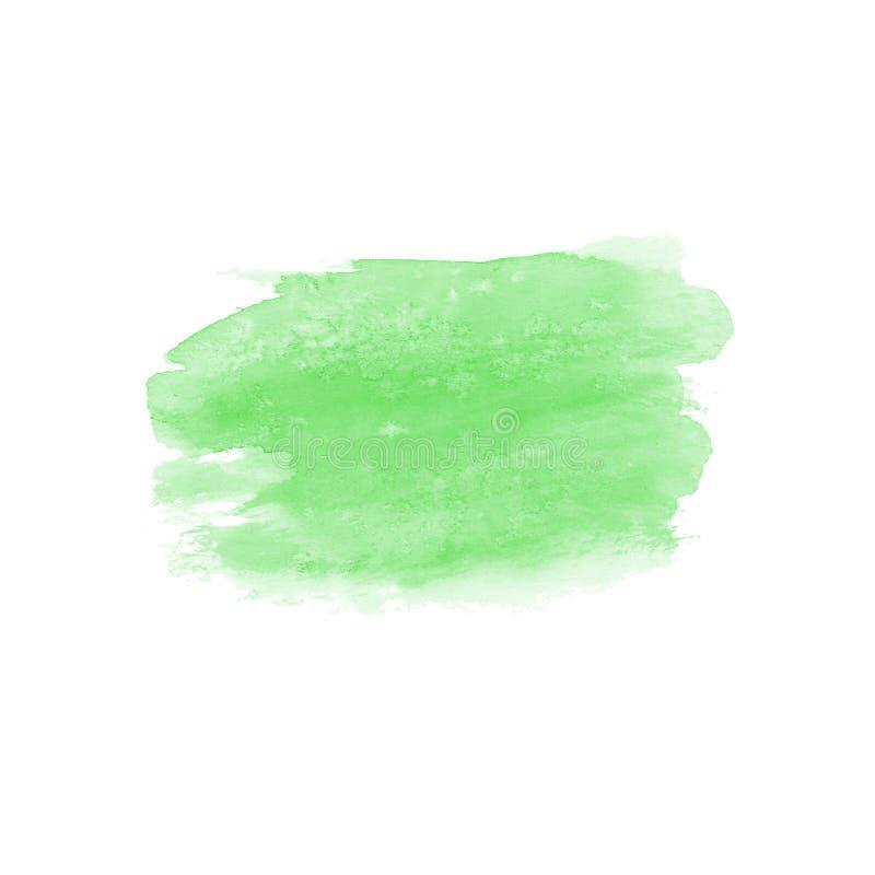 Abstrakter grüner Fleck stockfotografie