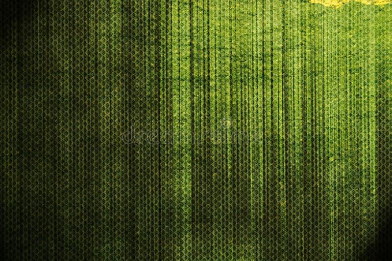 Abstrakter grüner grunge Hintergrund lizenzfreie abbildung