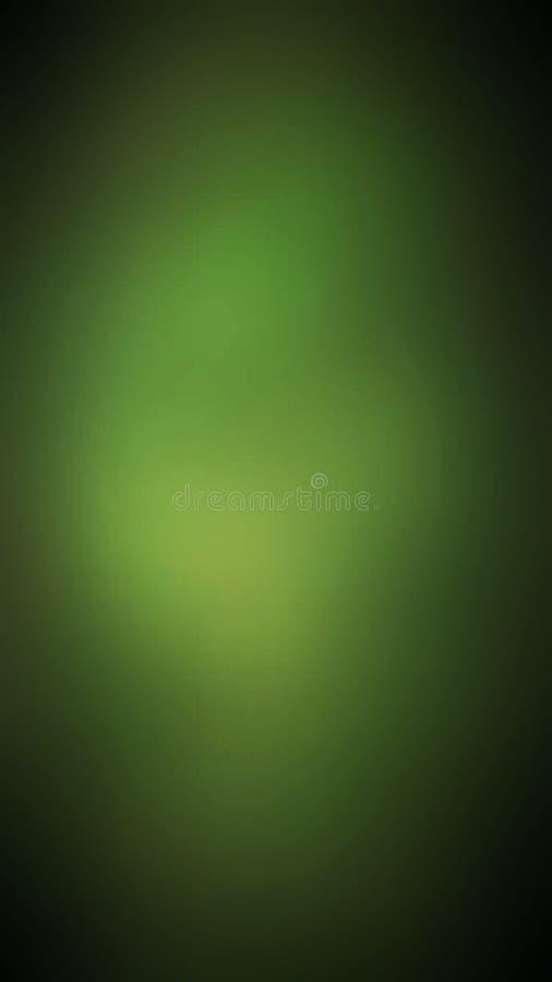 Abstrakter grüner heller Unschärfehintergrund stock abbildung
