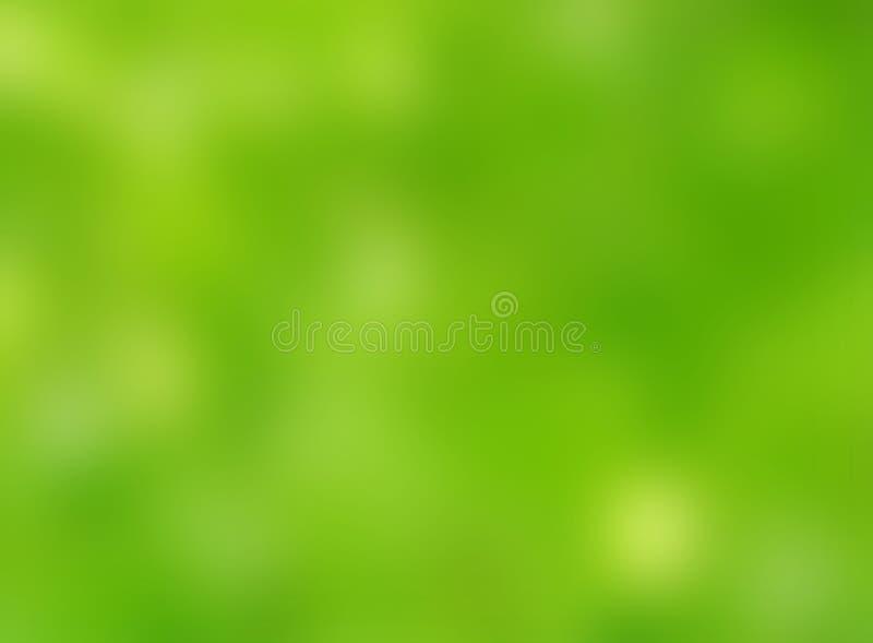 Abstrakter grüner Herbstnaturunschärfe bokeh Hintergrund lizenzfreie stockbilder