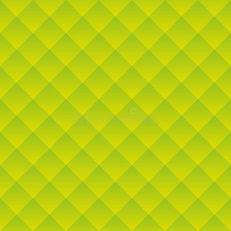 Abstrakter grüner quadratischer geometrischer Hintergrund Vektor vektor abbildung