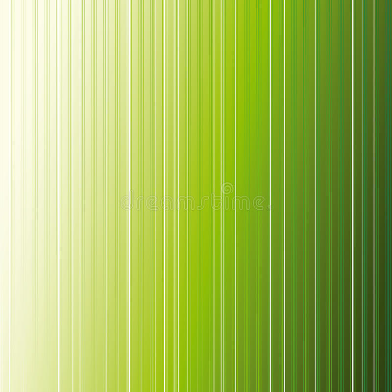 Abstrakter grüner Streifenhintergrund vektor abbildung