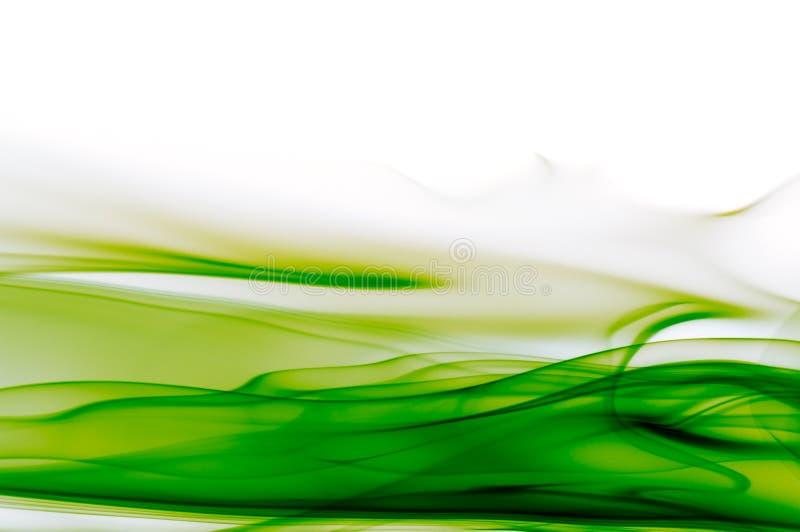 Abstrakter grüner und weißer Hintergrund vektor abbildung