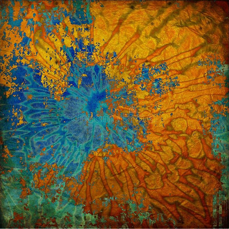 Abstrakter grafischer Hintergrund der Kunst stock abbildung