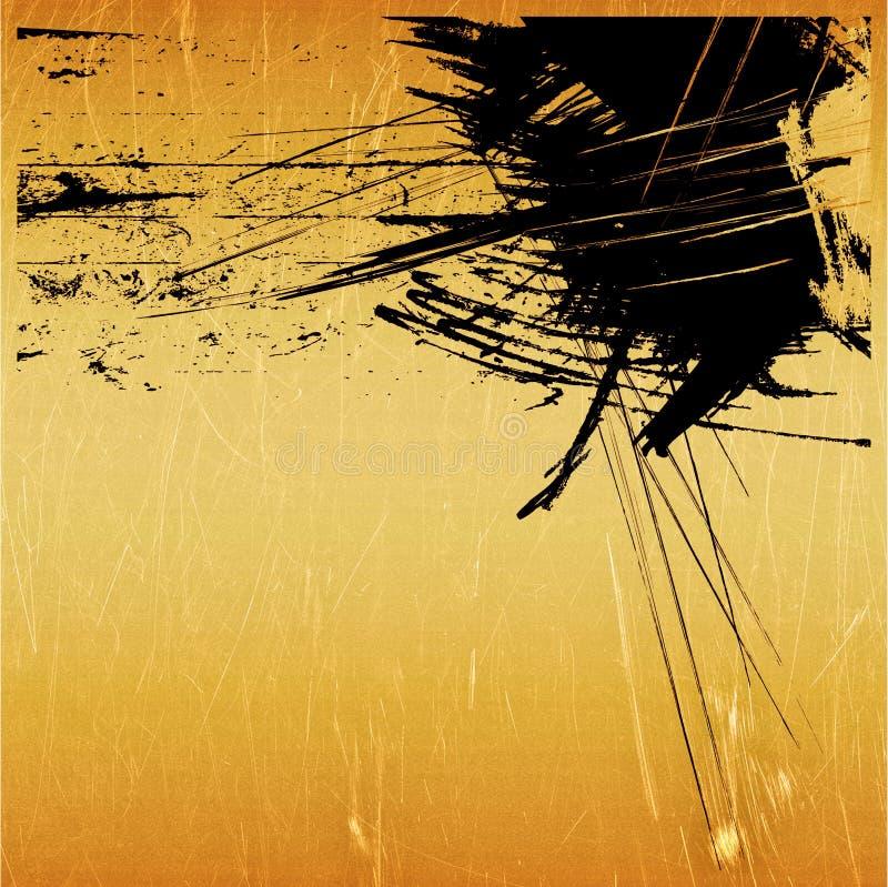 Abstrakter grafischer Hintergrund der Kunst vektor abbildung