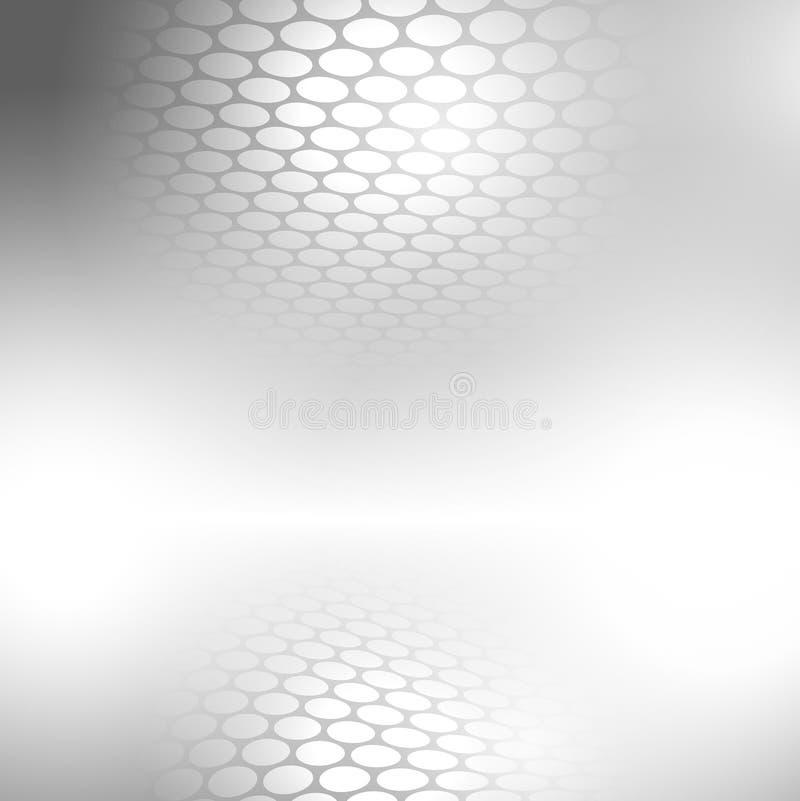 Abstrakter grauer Hintergrund vektor abbildung