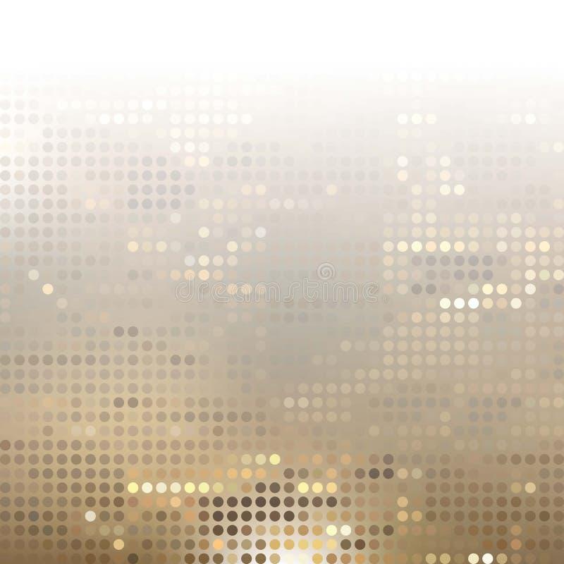 Abstrakter Gray Technology Background, Vektor vektor abbildung
