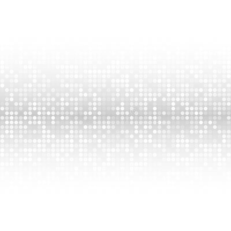 Abstrakter Gray Technology Cover Background vektor abbildung