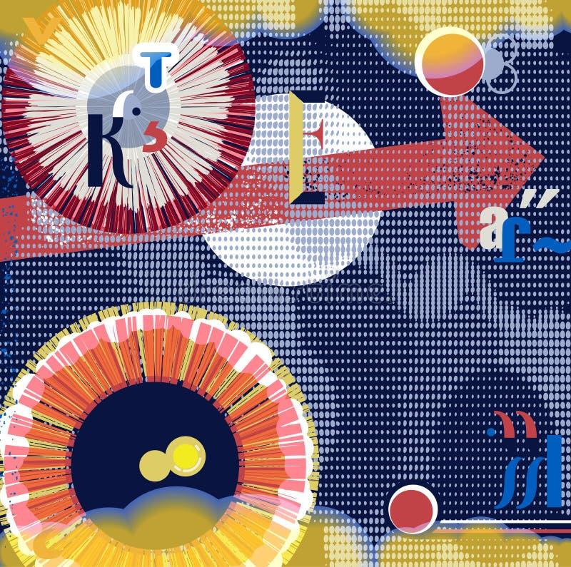 Download Abstrakter Grunge Hintergrund Vektor Abbildung - Illustration von auslegung, geometrisch: 27729956