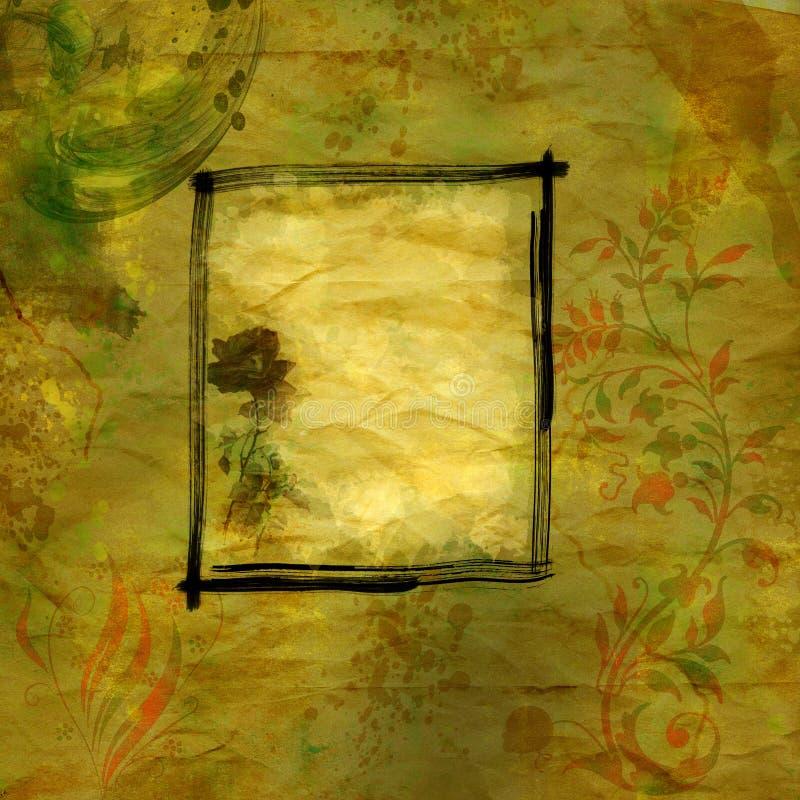 Abstrakter grunge Hintergrund vektor abbildung