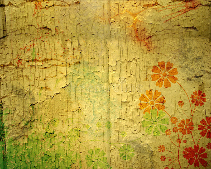 Abstrakter Grunge Hintergrund stock abbildung