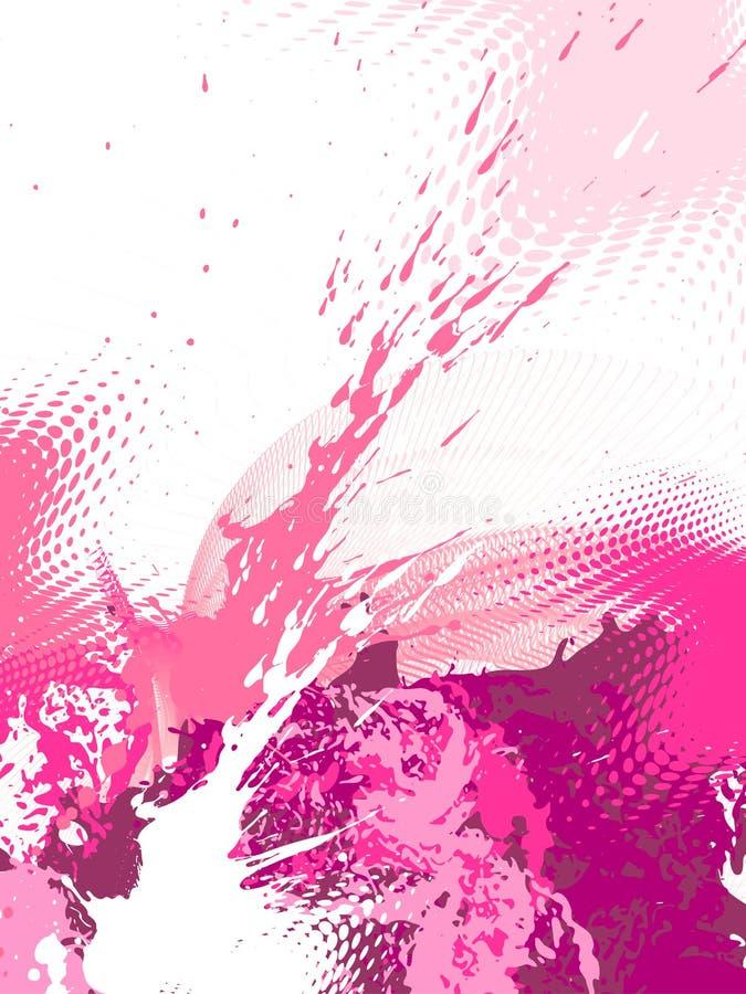 Abstrakter grunge Hintergrund, Vektor lizenzfreie abbildung