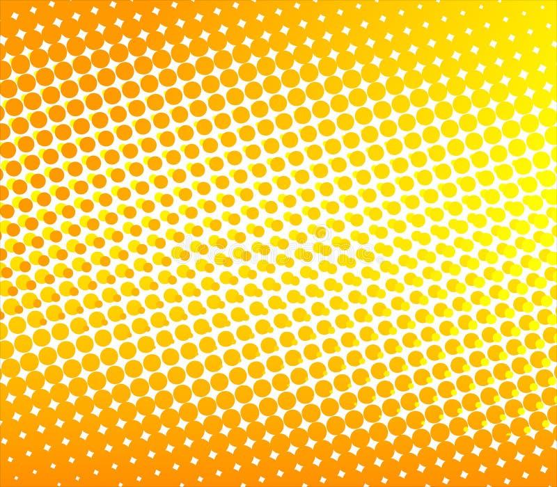 Abstrakter Halbtonhintergrund stock abbildung