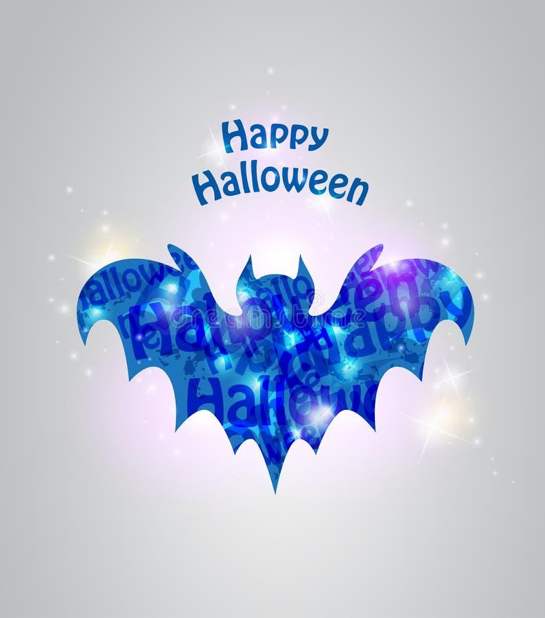Abstrakter Halloween-Hintergrund stock abbildung