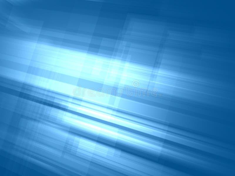Abstrakter hellblauer leuchtender Hintergrund lizenzfreie abbildung