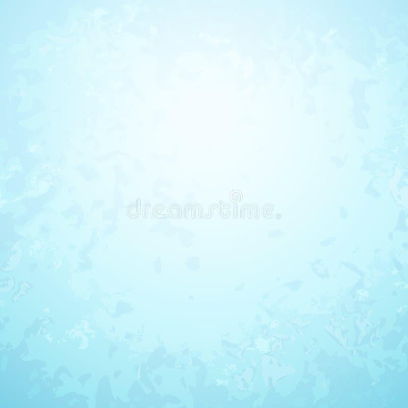 Abstrakter hellblauer Papierhintergrund mit hellem stock abbildung