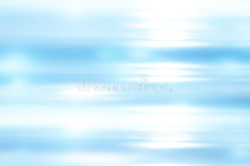 Abstrakter heller blauer weicher Hintergrund lizenzfreie abbildung