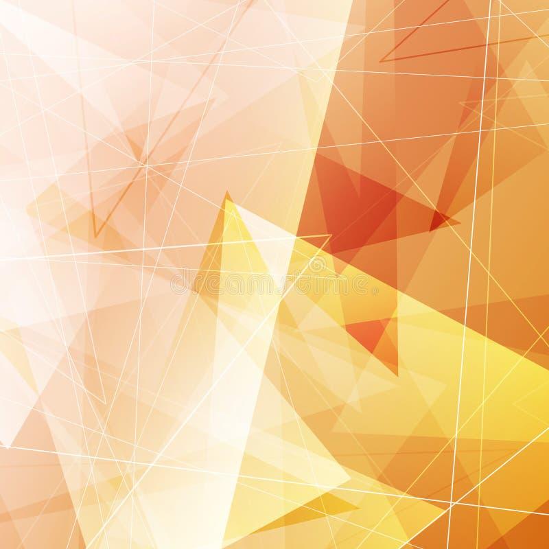 Abstrakter heller geteilter geometrischer Hintergrund lizenzfreie abbildung