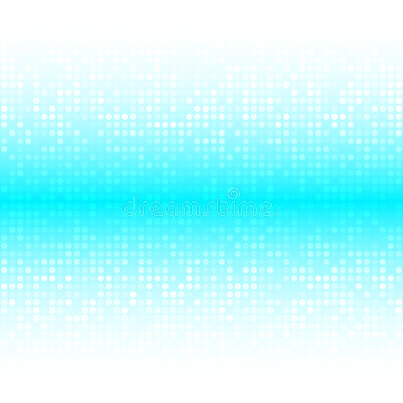 Abstrakter heller heller Honey Blue Water Technology Business-Abdeckungs-Hintergrund vektor abbildung